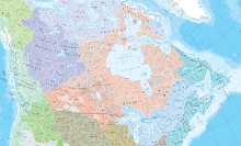 Watersheds; Canada's ocean watersheds are the Atlantic Ocean, Hudson Bay, Arctic Ocean, Pacific Ocean and Gulf of Mexico.